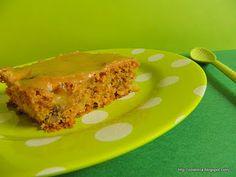Apple cake with brown sugar glaze Brown Sugar Glaze, Apple Cake, Meatloaf, Lasagna, Cakes, Ethnic Recipes, Desserts, Food, Tailgate Desserts