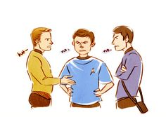 I really love the satiny sheen to mccoy's shirts in tos