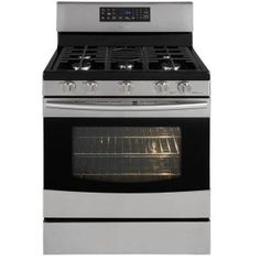 Samsung 5.8 cu. ft. Gas Range with Self-Cleaning Convection Oven in Stainless Steel-NX583G0VBSR at The Home Depot