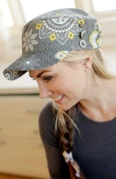 Classic Cap – IJ928 hat sewing pattern from IndygoJunction.com