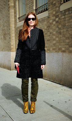 NYFW Street Style - Fashionologie