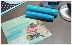 Gelatos and Gesso---photo tutorial