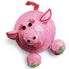 Cute piggy cake!