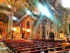 Navata centrale di San Nicolò a Pietra Ligure