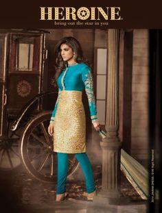 Buy Priyanka Chopra Shaded Floor Length Salwar Suit 5033 • AanchalFashion