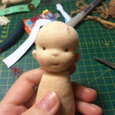 И так это выглядит после ..)) #вальдорфскаякукла #dollmaking #taisoid #waldorfdoll #waldorfpuppe