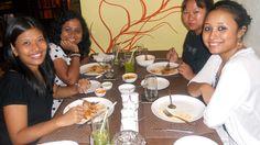 Anunita Mitra, Aton, Rebecca & Shasmati at The Golconda Bowl - Hauz Khas Village