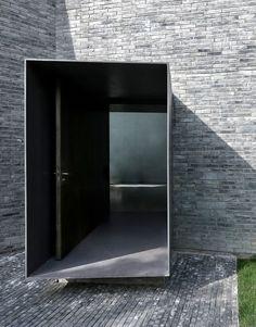 detalles de acceso pasillo