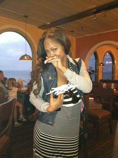 Welcome To Chris biz-Blog: Hackers Also Got Megan Good, Shares Pics Of Her Pr...