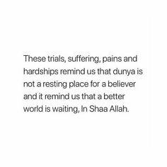 Inn Shaa Allah!