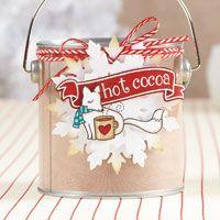 Foxy Hot Cocoa Tag | November/December 2013 | Paper Crafts | Cristina Nunez