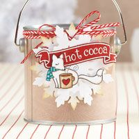 Foxy Hot Cocoa Tag | November/December 2013 | Paper Crafts | Cristina Nunez