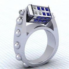 Imagem de cool, jewelry, and geek Aneis, Guerra Nas Estrelas, Anel Tardis 8628605c07