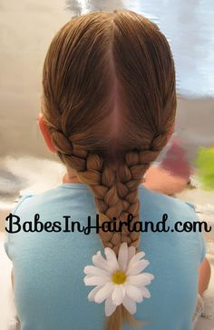 2 Braids into 1 Hairstyle | Babes In Hairland.. I love this blog! Can't wait till Bug has long enough hair for me to try these out