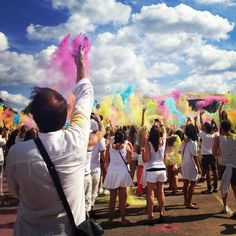 Happiness is... Holi One festival!