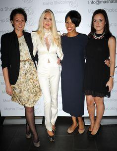 Behind the scene: fashion show of Maria Shatalova Pogrebnyak. designer Maria Shatalova with Olga Baranova and The Anonymous team