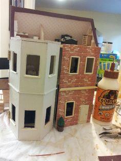 quarter scale handmade dollhouse I made Needle Felted Animals, Felt Animals, Needle Felting, Ooak Dolls, Dollhouses, Scale, Arts And Crafts, Craft Ideas, Cooking