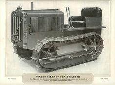Crawler Tractor, Old Tractors, Caterpillar, Concept Cars, Military Vehicles, Trucks, Homemade, Cats, Mini