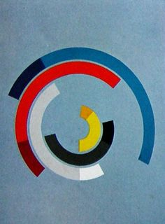 """Anton Stankowski (1906 - 1998) was a German graphic designer, photographer & painter. He developed an original Theory of Design & pioneered Constructive Graphic Art. Typical Stankowski designs attempt to illustrate processes/behaviours rather than objects. Such experiments resulted in the use of fractal-like structures long before their popularisation by Benoît Mandelbrot in 1975, Please see his great graphics on the Board """"Swiss Graphic Designs""""."""