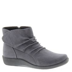 Womens Clarks Sillian Chell Ankle Boot GRAY 10 N * Click affiliate link Amazon.com on image for more details.