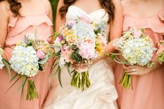 Photography: Katelyn James Photography- girls and my bouquet