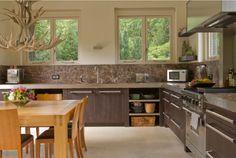 Maatwerk eiken houten keuken afwerking bietjes en rvs