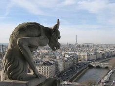 Unusual animal mixtures, or chimeras, did not act as rain spouts and are more properly called grotesques. They serve more as ornamentation, but are now synonymous with gargoyles.