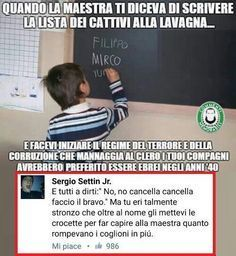Funny Pictures For Kids, Funny Images, Verona, Funny Life Lessons, Italian Memes, Art Quotes Funny, Funny Cute, Hilarious, Funny Test