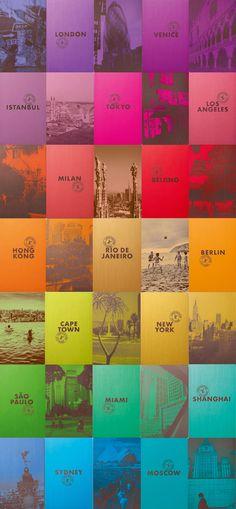 LOUIS VUITTON City Guides 2015 | Erika Brechtel | Brand Stylist
