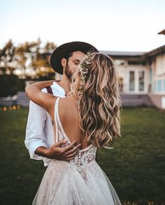 Buy Flowy A-line V-neck Boho Wedding Dress With Appliques Beading styles are ideal for brides who looking for elegant and a bit of sensuality, as it is well adapted to your beauty for a perfect wedding. Wedding Goals, Wedding Events, Destination Wedding, Perfect Wedding, Dream Wedding, Wedding Day, Wedding Tips, Wedding Ceremony, Beach Ceremony