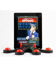 The iPad's size is perfect for multi-player gaming. Read more AppQuiz Turns Your iPad Into a Portable Game Show Mini Games, Games To Play, Best Christmas Gifts, Xmas Gifts, Ipad Accessories, Gadgets, Game App, Gifts For Teens, Accessories