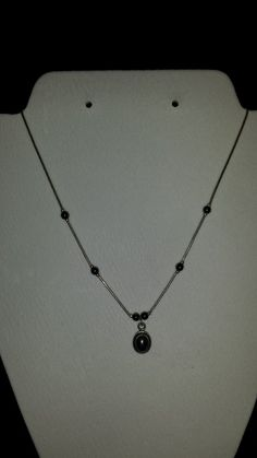 Marcasite and Sterling Silver necklace by SecondChanceBling, $15.00