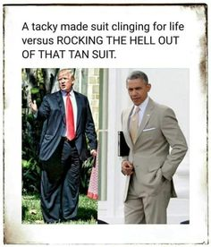 From Hero to Zero presidents The longer *trump is around the better Obama looks. Thank you Obama family for giving this country an honorable 8 years. Barack Obama, Obama Funny, Trump Obama Meme, Funny Quotes, Funny Memes, Funny Pics, Political Views, Political Scandals, Political Satire