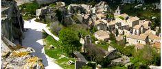 Visit the beguiling perched village of Les Baux-de-Provence Tourist Spots, France Travel, Great Photos, Provence, Wander, River, French, Mansions, Landscape