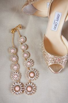 Jimmy Choo and Jewels Jimmy Choo, Bridal Shoes, Wedding Shoes, Bridal Jewelry, Wedding Bands, Bridal Accessories, Fashion Accessories, Manolo Blahnik, Gold Wedding