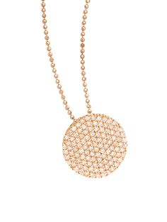 Phillips House Rose Gold Disc Pendant Necklace at London Jewelers!