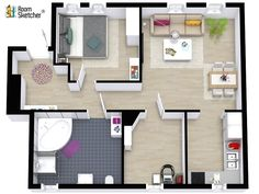 Are you a real estate photographer? Add beautiful 3D Floor Plans to your services and STAND OUT from the crowd. Learn more: http://www.roomsketcher.com/real-estate/real-estate-photography/ #realestatephotography #realestate #realestatemarketing #homevisualization