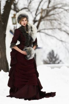 Katerina Baumgertner Victorian Fashion