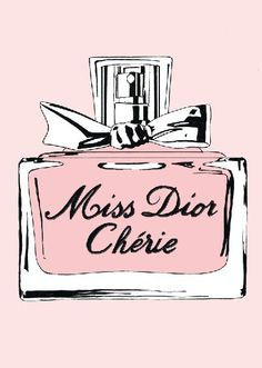 My favourite scent - Miss Dior Cherie