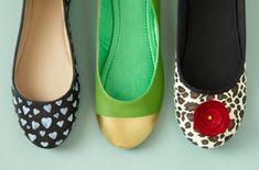 Tres ideas para darles un nuevo estilo a tus balerinas y chatitas...