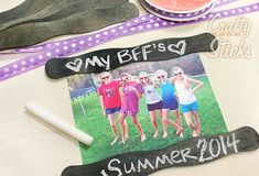 Charcoal Black Wavy Sticks and Chalk! Popsicle Stick Craft Ideas from CraftySticks.com http://www.craftysticks.com/Popsicle-Stick-Craft-Photo-Inspiration_b_8.html