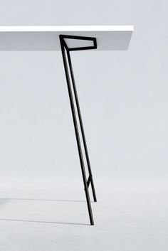 Minimal Design Metal Table Legs.