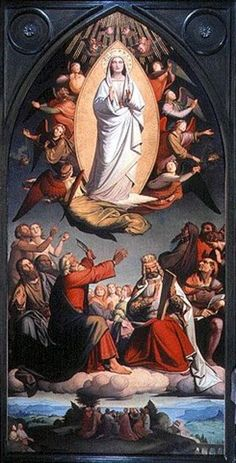 Assumption Holy Day Of Obligation Holy Day Of Obligation Wikipedia The Free Encyclopedia Franz Xaver Winterhalter, Caspar David Friedrich, Mother In Heaven, Blessed Virgin Mary, St Joseph, Dom, Madonna, Painting, Image