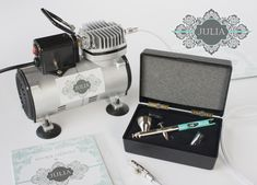 #NEW JULIA AIRBRUSH GIVEAWAY! Hi, everyone! As you may know, I've been working with the wonderful @BadgerAirbrushCo. for over a year on the design of a high-performance airbrush system specifically for cookie and cake decorating. The new JULIA dual-action system will be released worldwide later in April, but now is your chance to get it for FREE, along with a lifetime labor warranty. ENTER THE GIVEAWAY HERE (before March 30, 9 am CT) for a chance to win: https://tinyurl.com/ycftjj3m