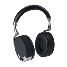 "Parrot Zik. Bluethooth ""smart"" headphones designed by Philippe Starck."