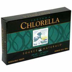 小球藻 Source Naturals : Yaeyama Chlorella, 200mg, 300 Tablets