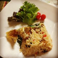 Kaw pad /thai food