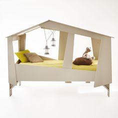 lit cabane 3 suisses d ko kids pinterest lit baldaquin tiroir de rangement et pin massif. Black Bedroom Furniture Sets. Home Design Ideas