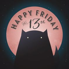 STRAWBERRY MOONS FOREVER ~ It's a full moon this Friday the 13th! Apparently this is a rare event, so be sure to look up and enjoy the beautiful strawberry moon this evening…and watch out for black cats!