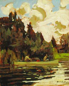 Garth Armstrong - Kioshkokwi Lake Algonquin Park 10 x 8